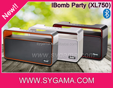 long lifetime 2000mAh over 8 hours playing big size party bluetooth speaker 10w