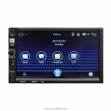 "7"" 2 Din Android 5.1.1 Car Radio Universal GPS Navigation Bluetooth WiFi 1024*600 Autoradio Stereo FM Audio Steering MP5 Player"