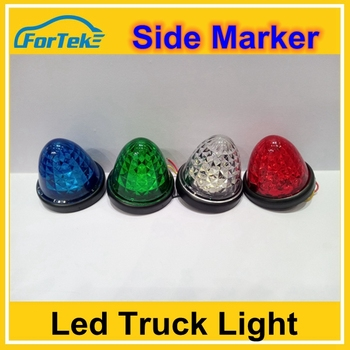 LED Clearance Bullet Marker lights factory supply Side LED marker lights for trailer Truck