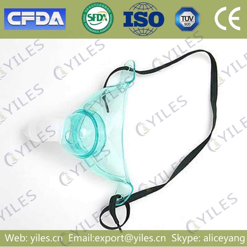 Free sample CE ISO Sterilized types of oxygen masks for Children made from PVC