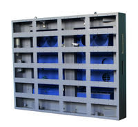 Portable led screen cabinet led video xxx china