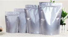 Big Size PA & PE Plastic Frozen Food resealable aluminum foil lined zipper bag for packaging chocolate for sea sedge