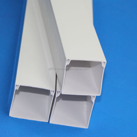 galvanized trunking pvc cable trunking size