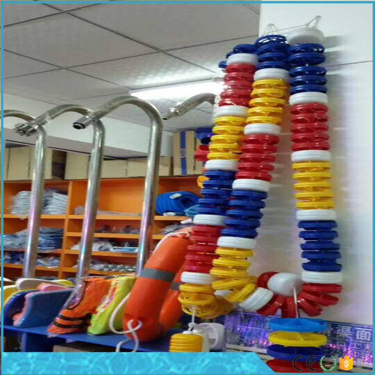 Professional plastic swimming pool lane Dividers Floating Rope Pool Lane Line