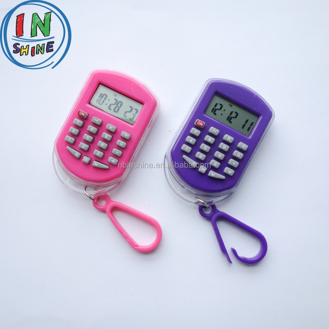 Mini cartoon basic calculator , mini scientific calculator , calculator with key chain