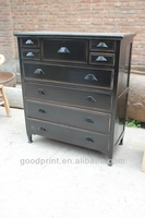 Antique Vintage Residential Furniture Living Rood Chest of Drawer