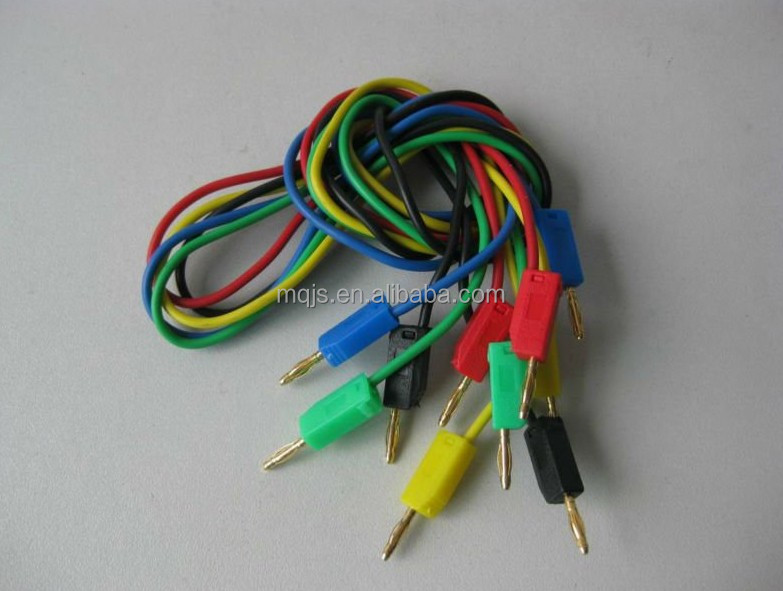 2mm/4mm banana plug connector with wire/Alligator clip with wire