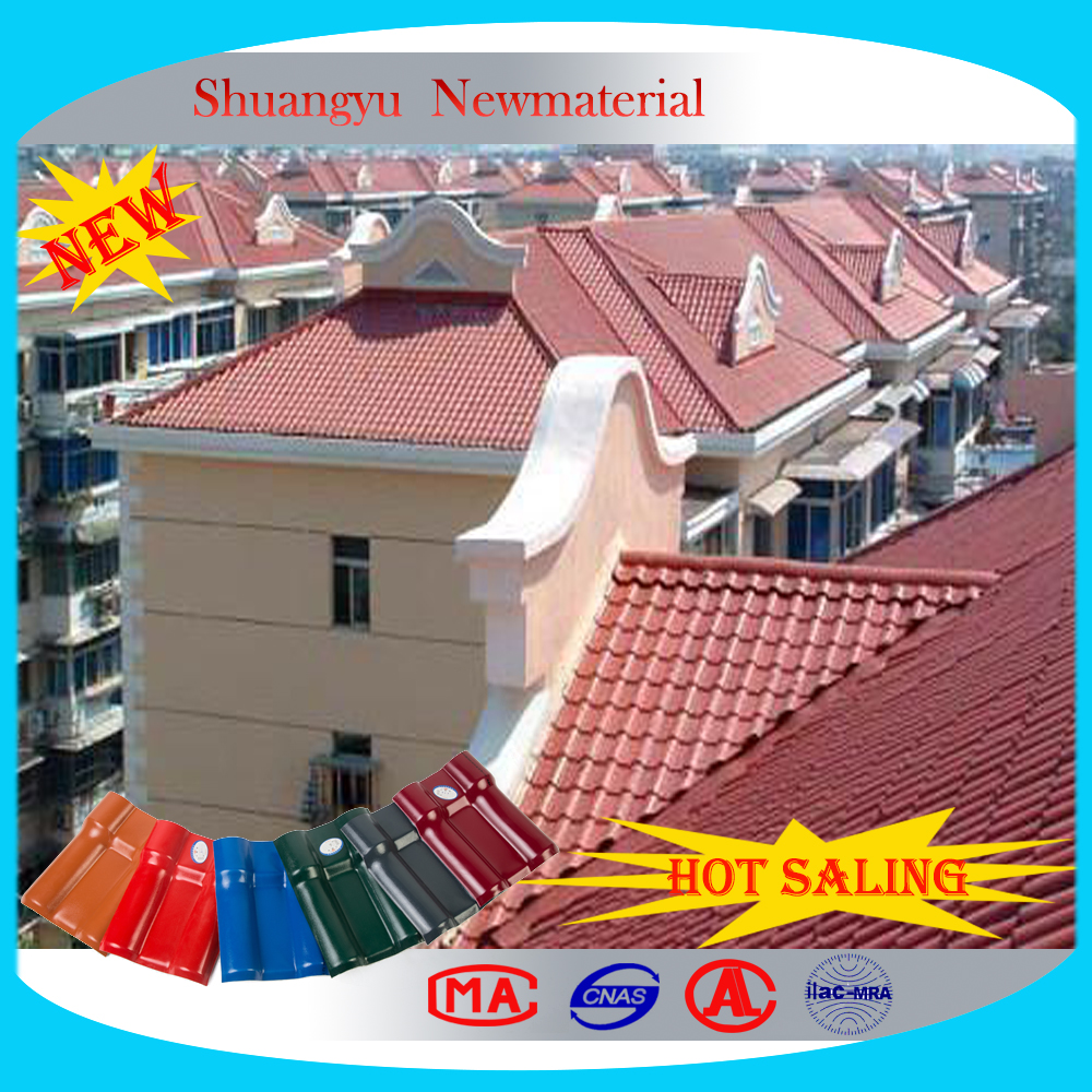 High Quality Round Wave UPVC Roofing Sheet/Roofing Tiles For Houses