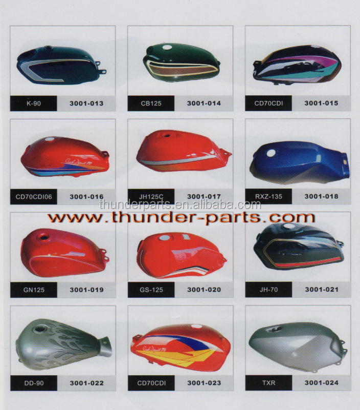 Motorcycle fuel tank,parts for Keeway motorcycles