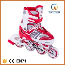 2017 hot selling adjustabe inline skate with protector and helmet