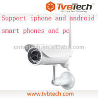 Tvbtech webcam ip with 12 infilter led lights