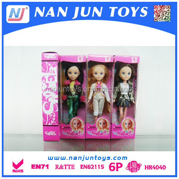 hot sale kids baby fashion doll for sales