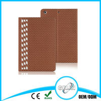 Hand Make Weaved Leather Case For iPad Air