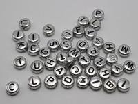 Buy Pink enamel cubic capital dice shape popular letter alphabet ...