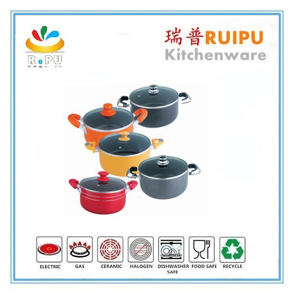 Hot Homeware Inox Soup Pot, aluminum alloy Hot Pot Chinese hot pot from zhejiang jinhua