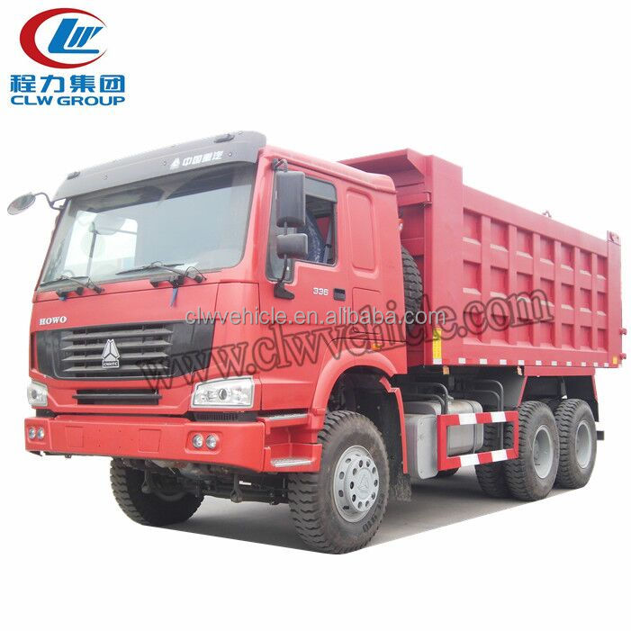 SINOTRUK HOWO A7 6x4 30 tons Sand Front Lift Tipper for sale