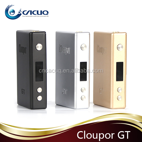 Cloupor GT 80w temperature control box mod clouper gt80 good vape vapor ecig supplier