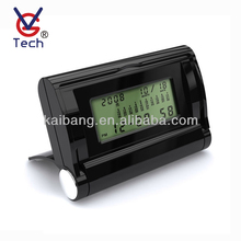 Promotional World Time Travel Digital Alarm Clock