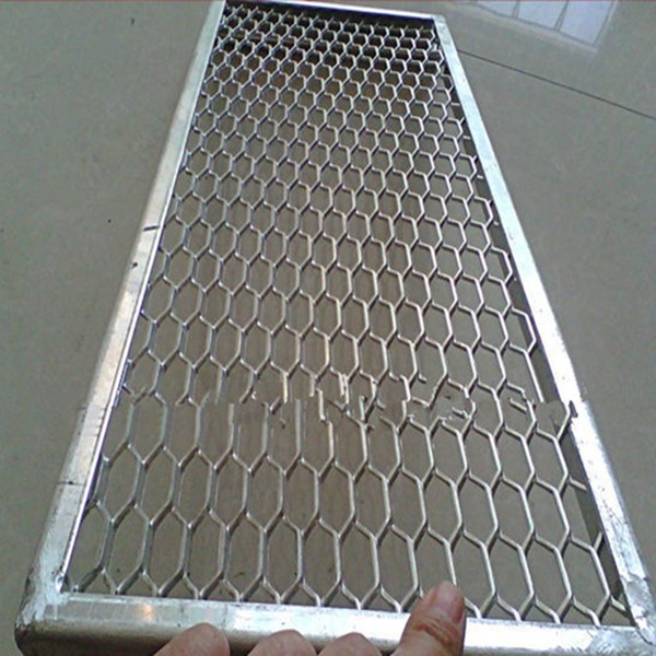 aluminum metal mesh panel of expanded metal sheet for decoration ceiling (manufacture )