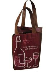 decorative paper bags for alcohol high quality paper wine bag wine column bag