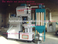 Professional design machine to make wood pellets