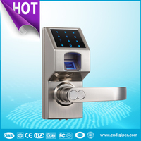 6600-307 Intelligent Touch Screen Keypad Biometric Fingerprint Door Lock