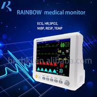 Rainbow Factory Outlets High Quality 6 Vital Signs Monitor Handheld Ecg Machine