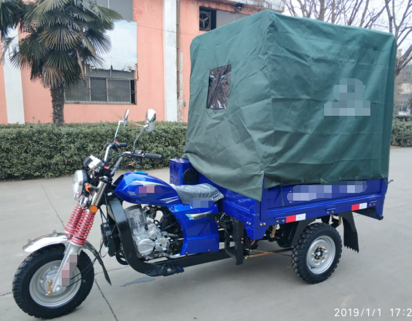 China ZHUFENG <strong>Brand</strong> Gas Motor Scooters <strong>For</strong> <strong>Sale</strong> Outport Model 150cc Gasoline Engine Motorized Truck Cargo Tricycle Motorcycle
