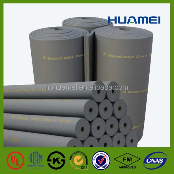 Soft Sound Absorbing Insulation Materials 20mm Thick Rubber