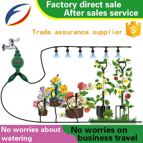agricultural diesel water pump drip irrigation system pipe sprinkler rain gun automatic irrigation system kits