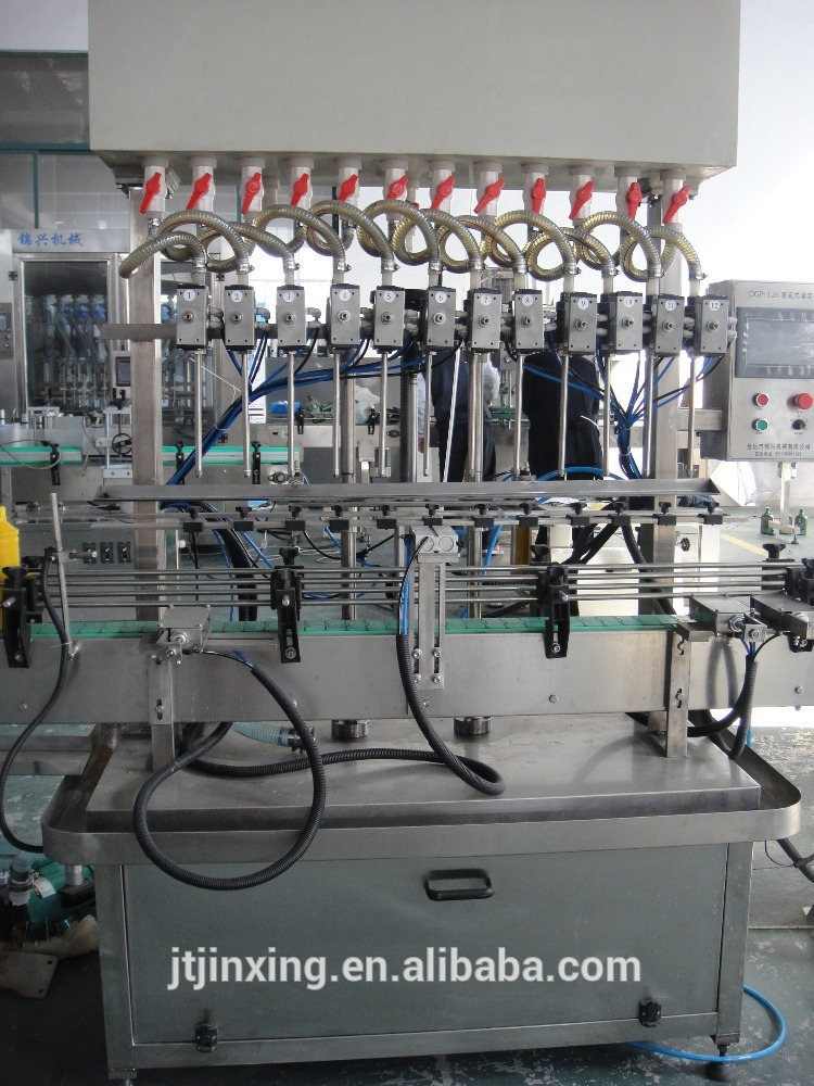 vial bottle nasal saline solution filling machine