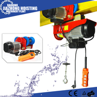 Huaxin small type mini electric cable hoist 100kg