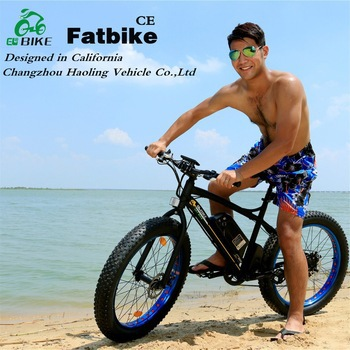 Fat bike,Man Style 48v battery cruiser beach electric bicycle for discount