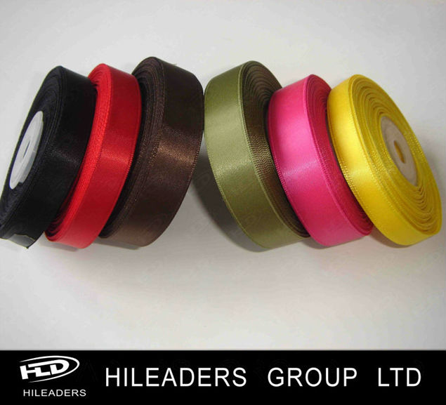 Wholesale Polyester Decorative 3CM Satin Ribbon