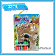 Hot Sale Top Bubble Water Gun Solid Color Camel Music Sound Blue Light Paint Flash Kid Toys