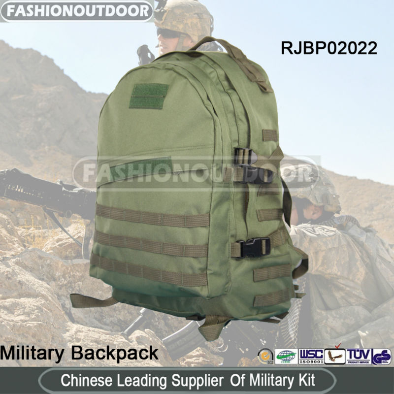 High Quality 2014 New Fashion Commando Durable 3D Military Backpack