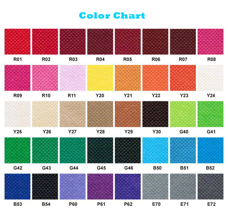 China manufacture custom color high quality PP woven fabric in roll with CE certification