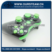 Custom Black Controller Housing Cover for Xbox 360 Wireless Factory made in china