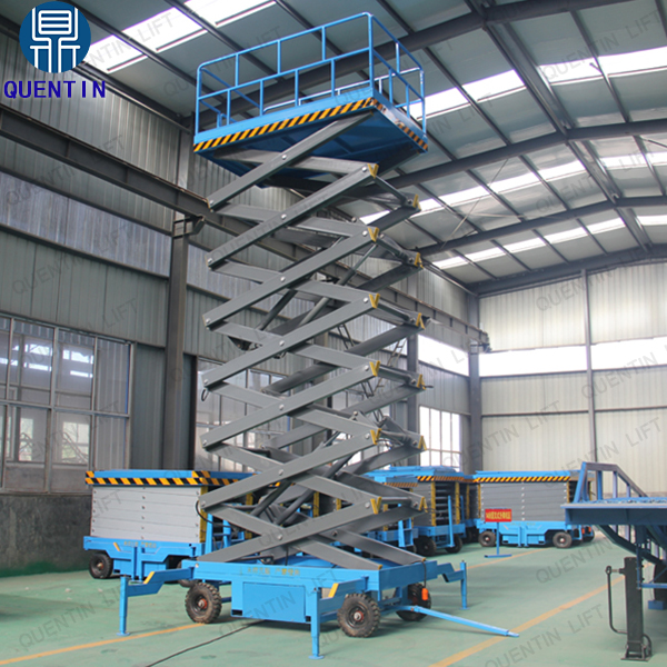Hydraulic electric lift platform mobile scissor lift table aerial work scissor lift