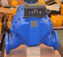 6 inch fuel PD flow meter water with register counter