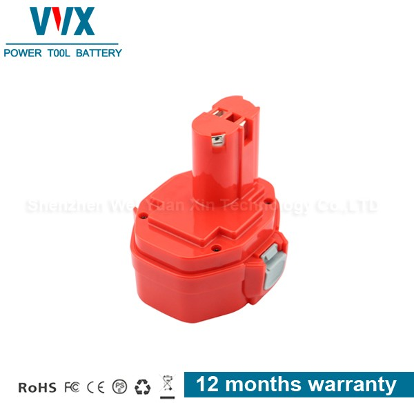 14.4V 2000mah Replacement Battery for MAKITA 1420, 1422, 192600-1, 193985-8, 194172-2, PA14