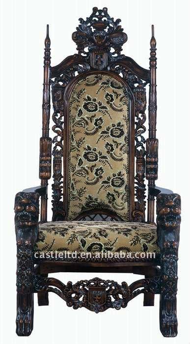 Talladas a mano silla de rey otros muebles antiguos for Muebles rey sillas
