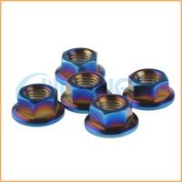 China supplier manufacture m17 titanium nut