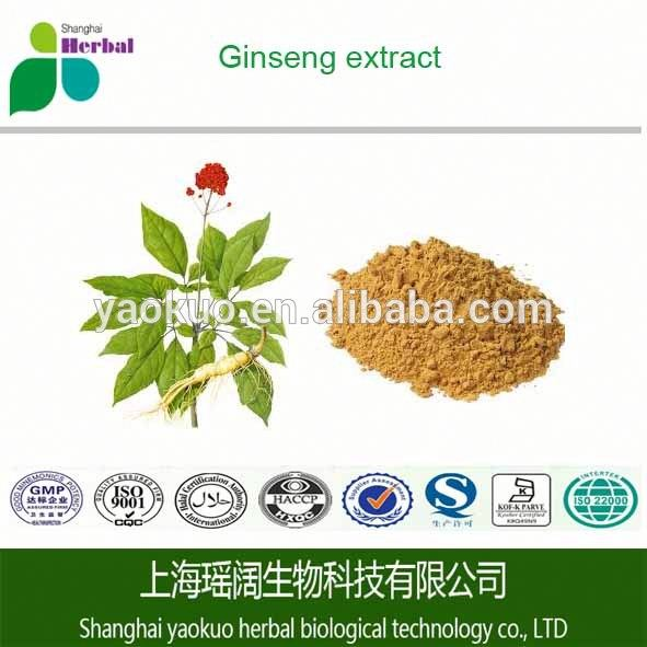 Cheap price korean red ginseng extract gold/ginseng extract powder/panax ginseng extract