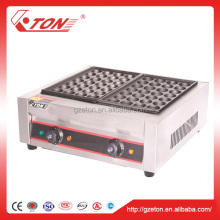 High Efficiency Electric Fish Ball Grill / Takoyaki Machine
