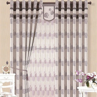 Beautiful Rose pattern thick paghetti string curtain