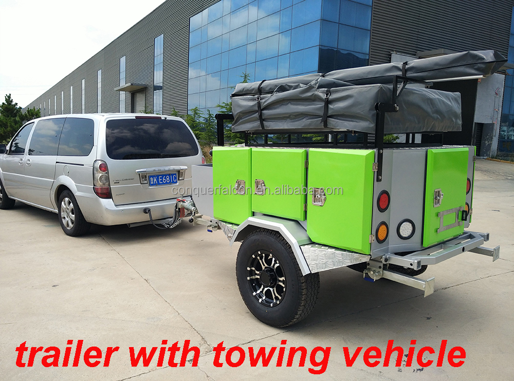 Tent Trailers Vehicle : Trailer tent camping car buy