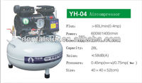 Small Mobile Oil Free Dental Air Compressor with Low Noise