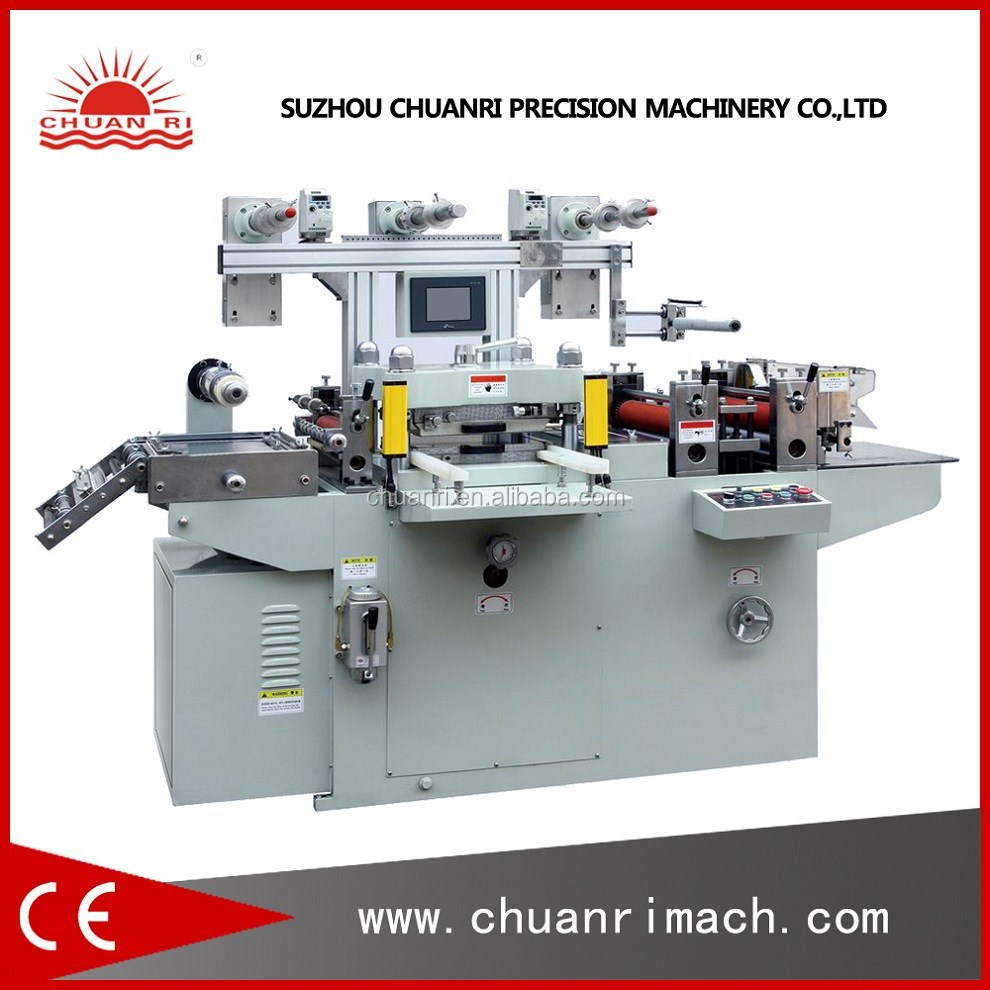 (Kiss Die Cutting And Rewinding) Rewinder And Auto Cutter