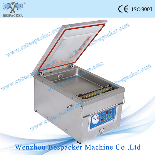 DZ-260 automatic food packing vacuum machine salted meat vacuum sealer machine duck vacuum nitrogen flushing sealing machine
